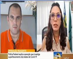 """Delegada da PF fala sobre operação: """"Chegada do avião foi coincidência"""""""
