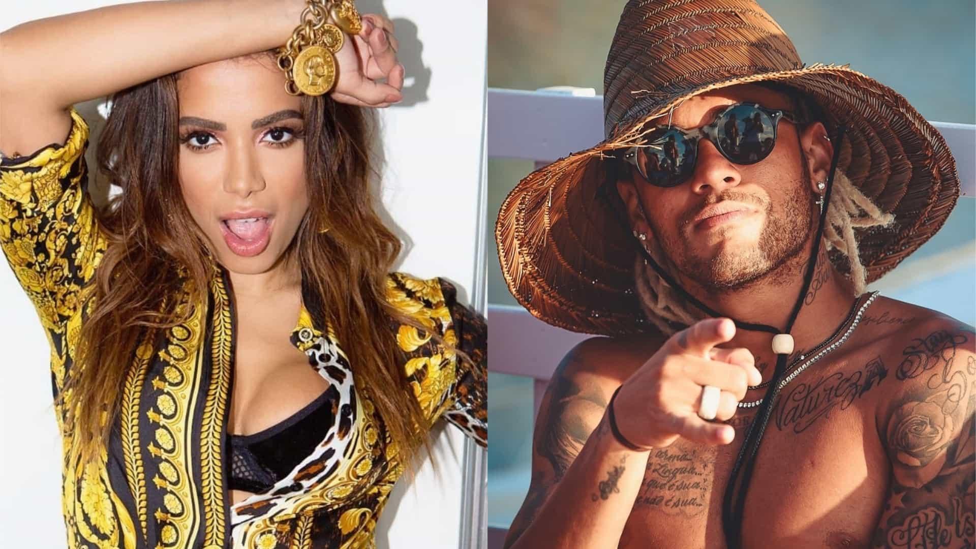 Anitta e Neymar - Foto: Reprodução