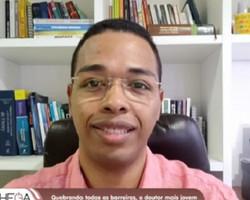 Doutor mais jovem do Brasil é negro e filho de pedreiro e costureira