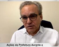 Firmino Filho pede que a população fiscalize os estabelecimentos