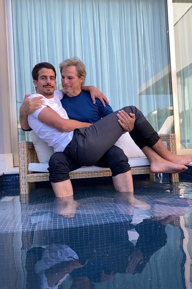 Enzo e Edson Celulari - Foto: Divulgação