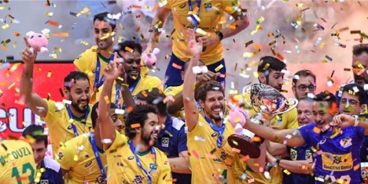 Vôlei do Brasil segue entre os três melhores no ranking mundial