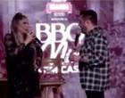 """Grávida, Flávia é constrangida por Bruno durante live:""""Conhece o pai?"""""""
