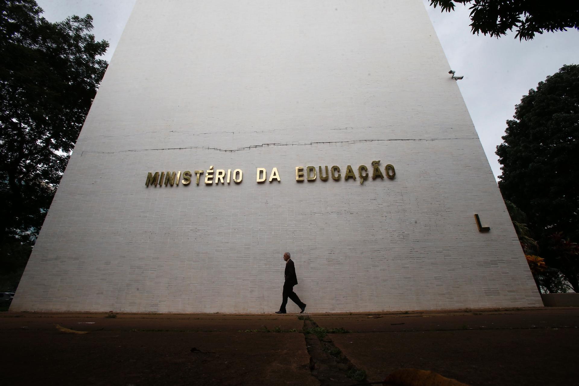 Ministério da Educação - Foto: Estadão Conteúdo