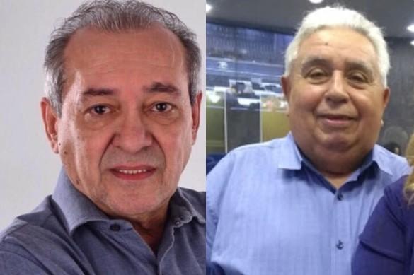 Jornalista Arimatéia Azevedo e o professor Francisco de Assis Barreto