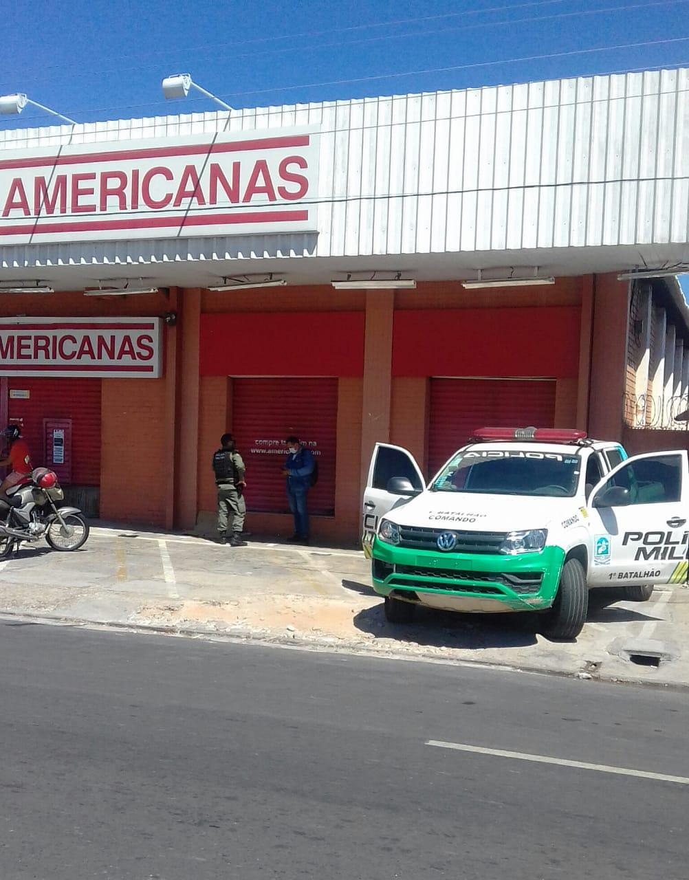 Lojas Americanas da Avenida Barão de Gurguéia - Foto: Divulgação