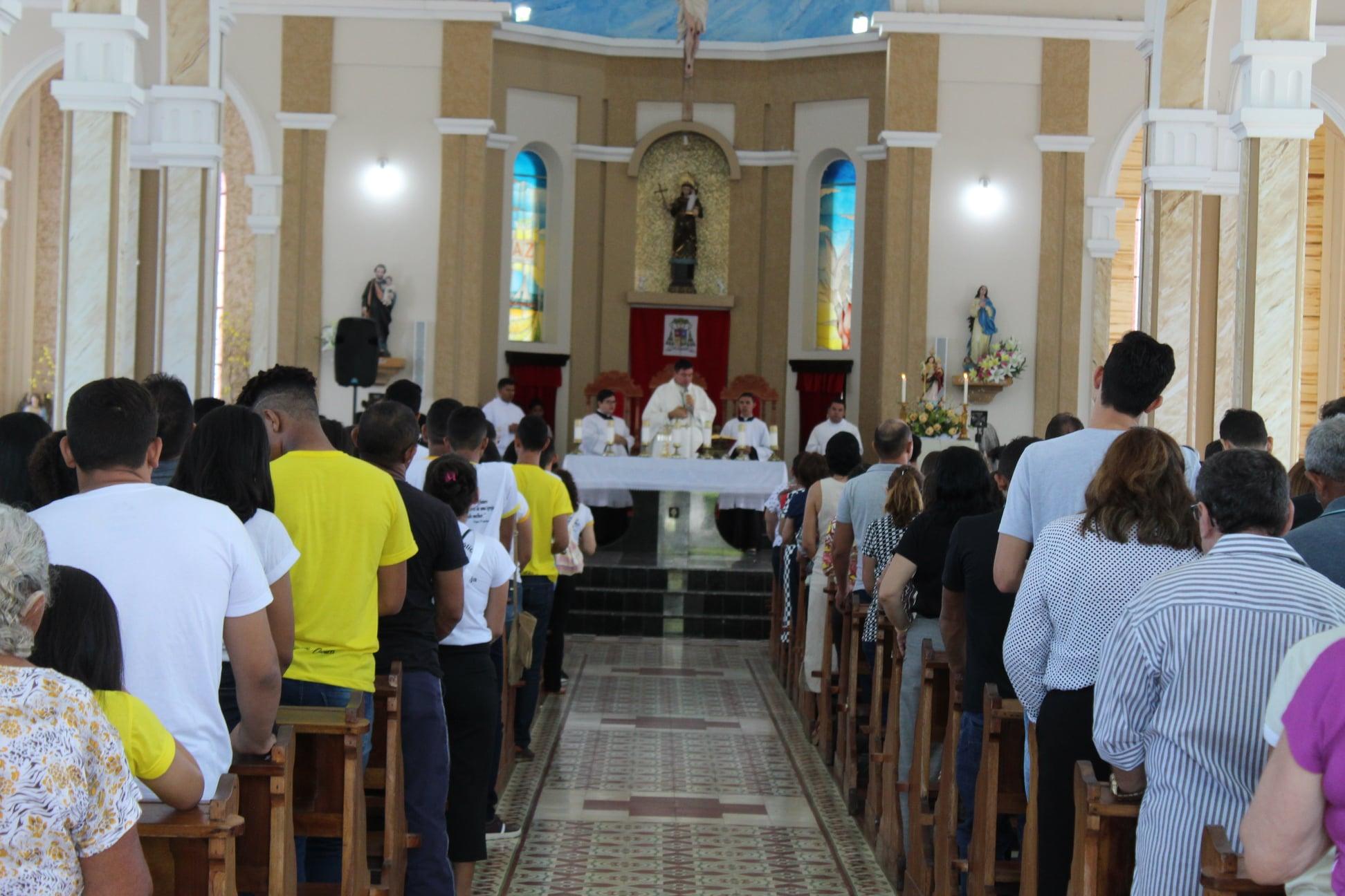 A última missa com a presença do povo foi celebrada em março. Foto: Ryan Andrade