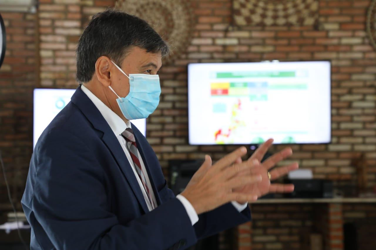 Wellington Dias estuda frear retomada em regiões de alto risco da Covid-19 no Piauí (Reprodução)