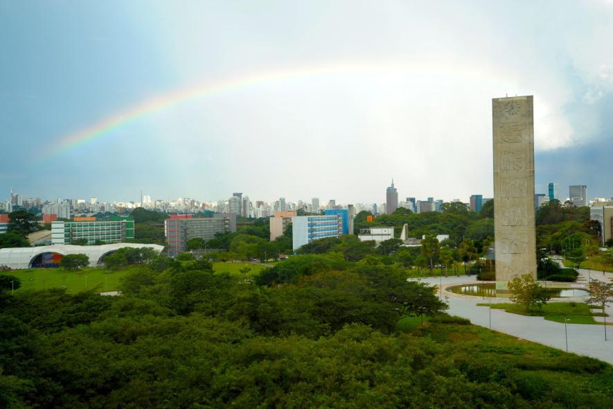 Sede da USP que está na 2° posição no Ranking- Foto: Cecilia Bastos/Jornal da USP/USP