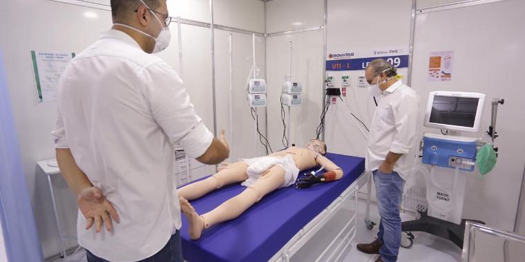 Leitos de UTI para Covid-19 aumentam 304% em Teresina