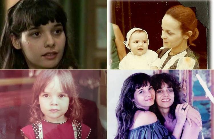 A atriz Daniela Peres, filha de Glória Peres, assassinada em 1992- Foto: Reprodução/Facebook