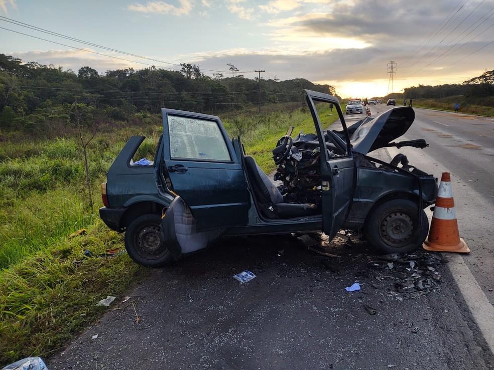 Acidente deixa 5 mortos em rodovia de SP - Foto: Divulgação/PRF