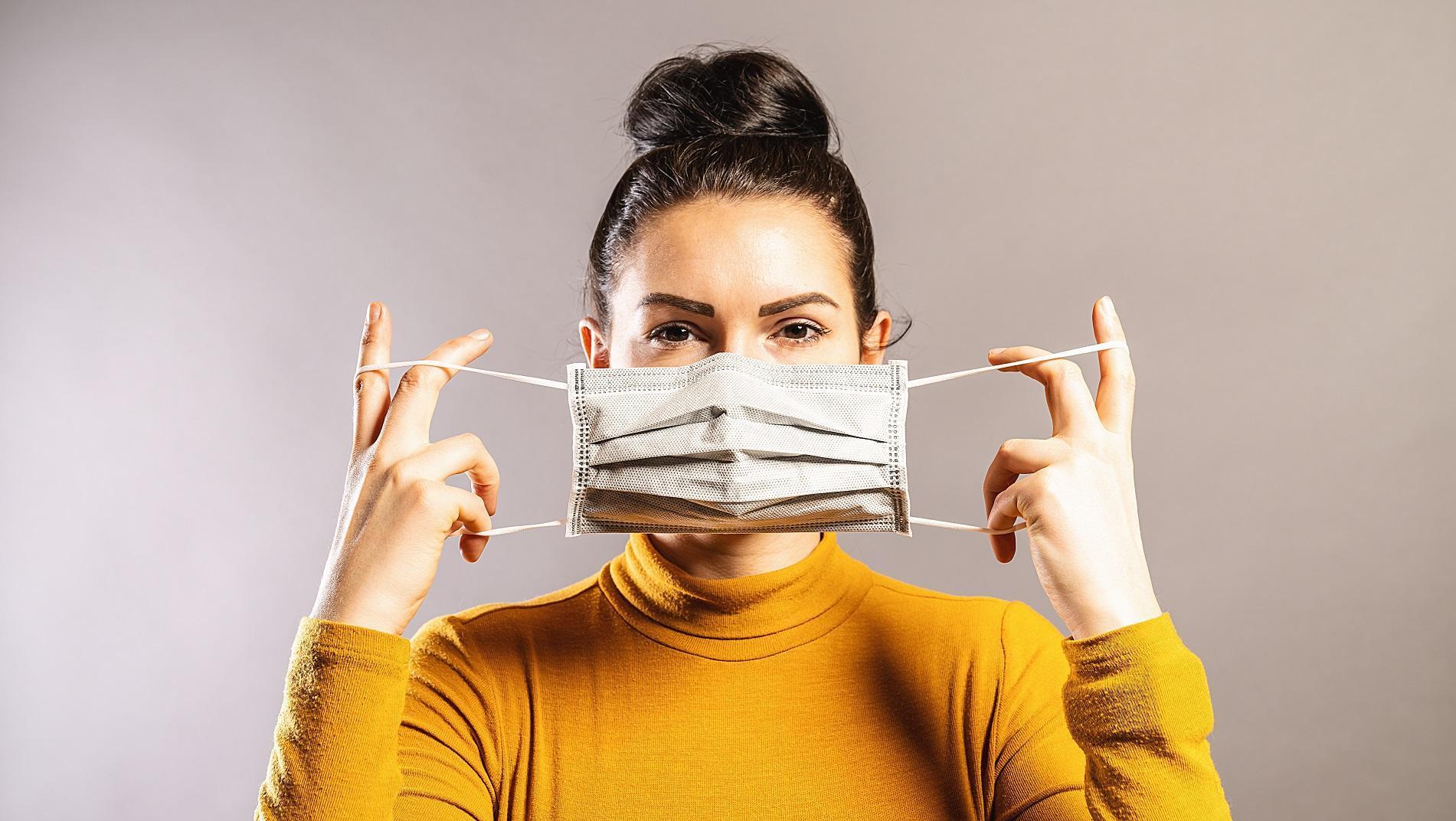 Uso correto da máscara (Foto: Reprodução)
