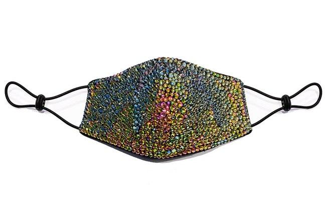Máscara facial luxuosa de cristal (Divulgação)