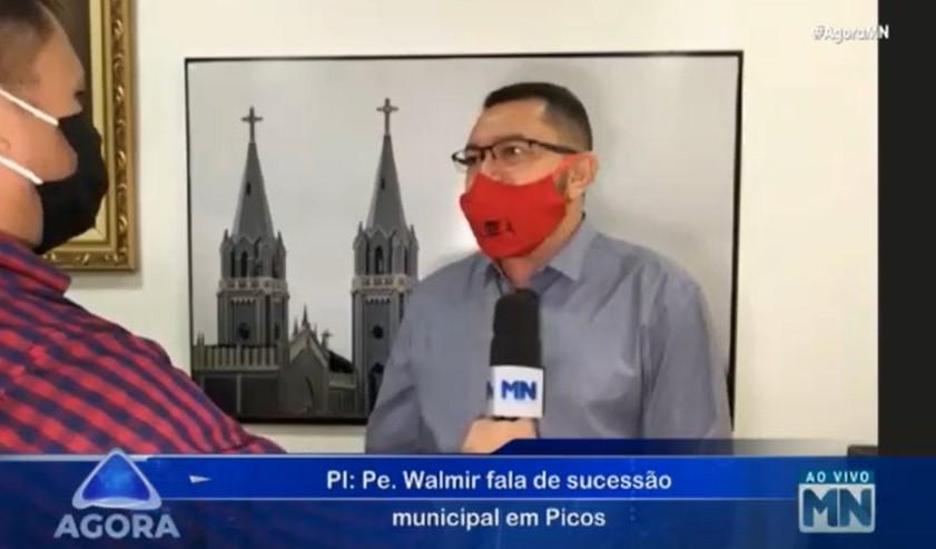 Padre Walmir Lima - Foto: Reprodução/TV Meio Norte