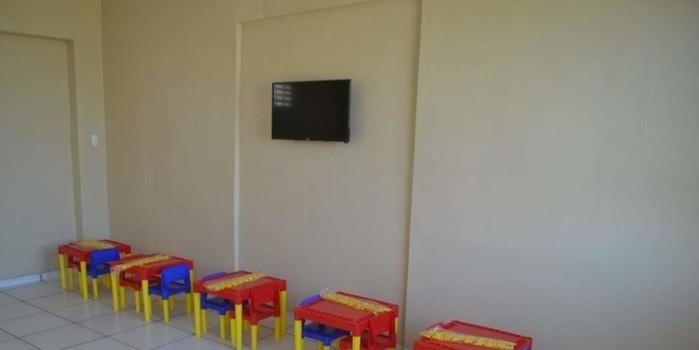 Escola Antônia Noronha, antigo Shopping, de cara nova. Mais um trabalho da prefeitura de Monsenhor Gil