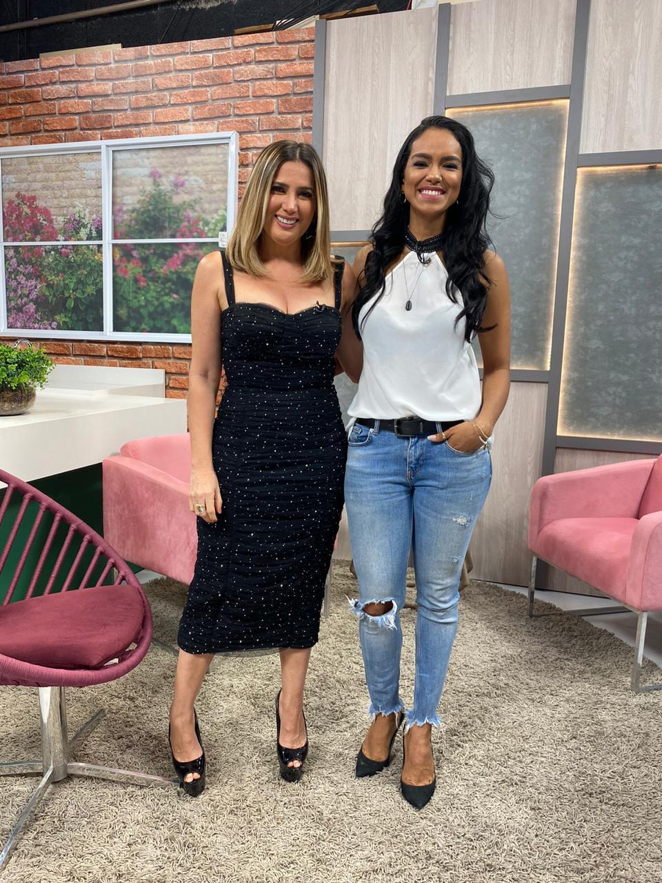 Karla Berger e Stefhania Fernandes