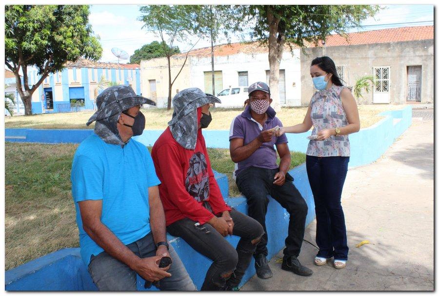 Gestão distribui máscaras para profissionais da limpeza e realiza testagem em agentes de endemias - Imagem 4