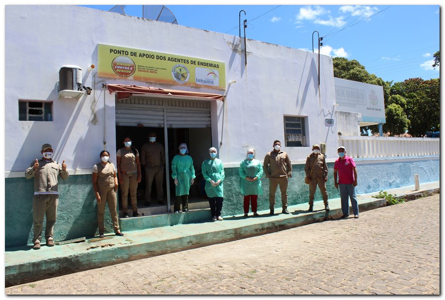 Gestão distribui máscaras para profissionais da limpeza e realiza testagem em agentes de endemias - Imagem 18