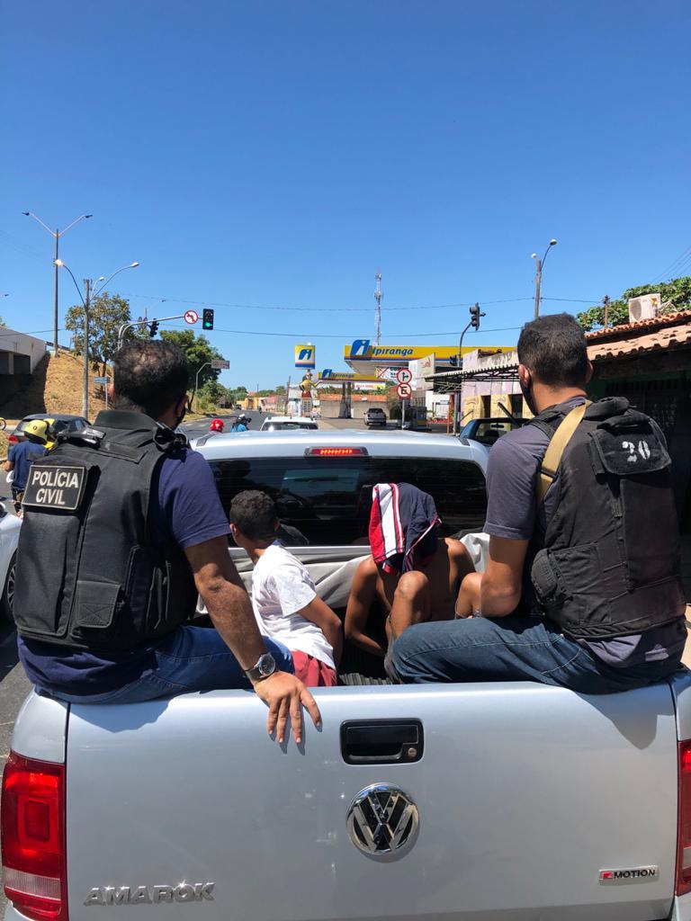 Prisão por tráfico de drogas na Vila da Guia em Teresina - Foto: Divulgação