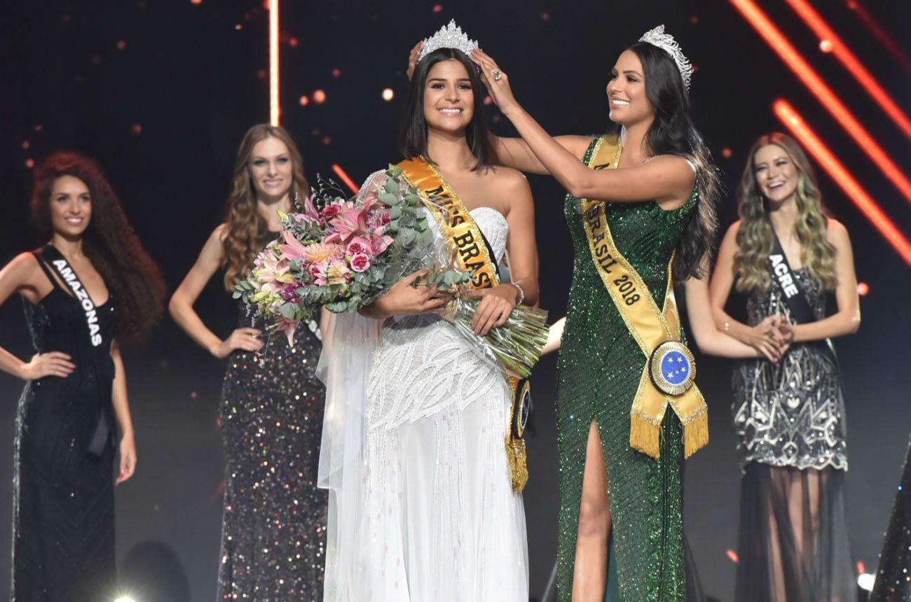 Cerimônia Miss Brasil 2020 (Foto: Reprodução)