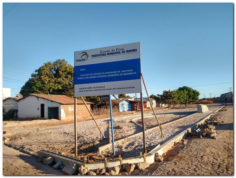 Construção de Praça no Bairro Sossego - Imagem 5