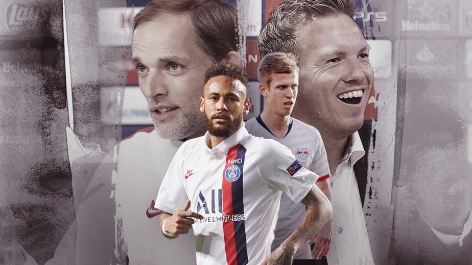 O PSG chega à sua segunda semifinal da história-Foto: GE