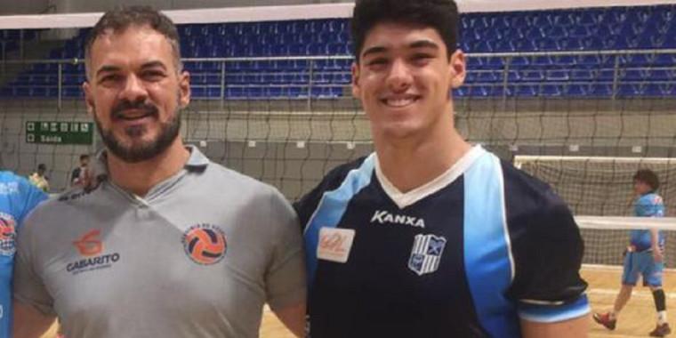 Pai e filho serão adversários na maior competição de vôlei do Brasil