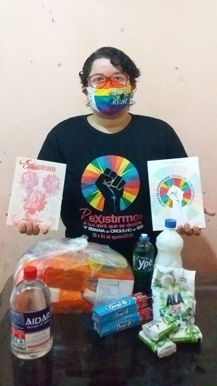 Entidades já distribuíram 109 cestas com kits de higiene