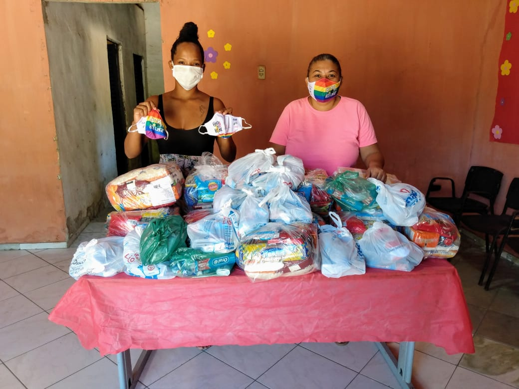 Membros do Grupo Matizes deram início ao projeto na pandemia - Foto: Divulgação