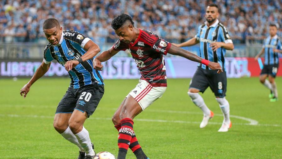 Flamengo e Grêmio jogam hoje pela 4ª rodada do Brasileirão-Foto: Reprodução