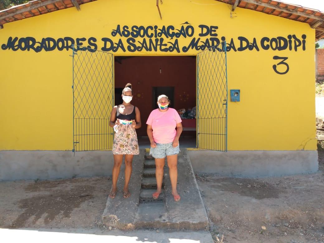 Material foi entregue em comunidades das zona Norte, Sul e Leste de Teresina - Foto: Divulgação