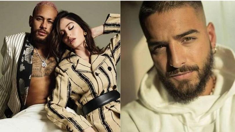 Atacante do PSG teve um affair com a ex-namorada do cantor colombiano Maluma