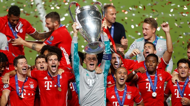 Bayern é campeão da Europa pela sexta vez (Manu Fernadez/ POOL/ AFP)
