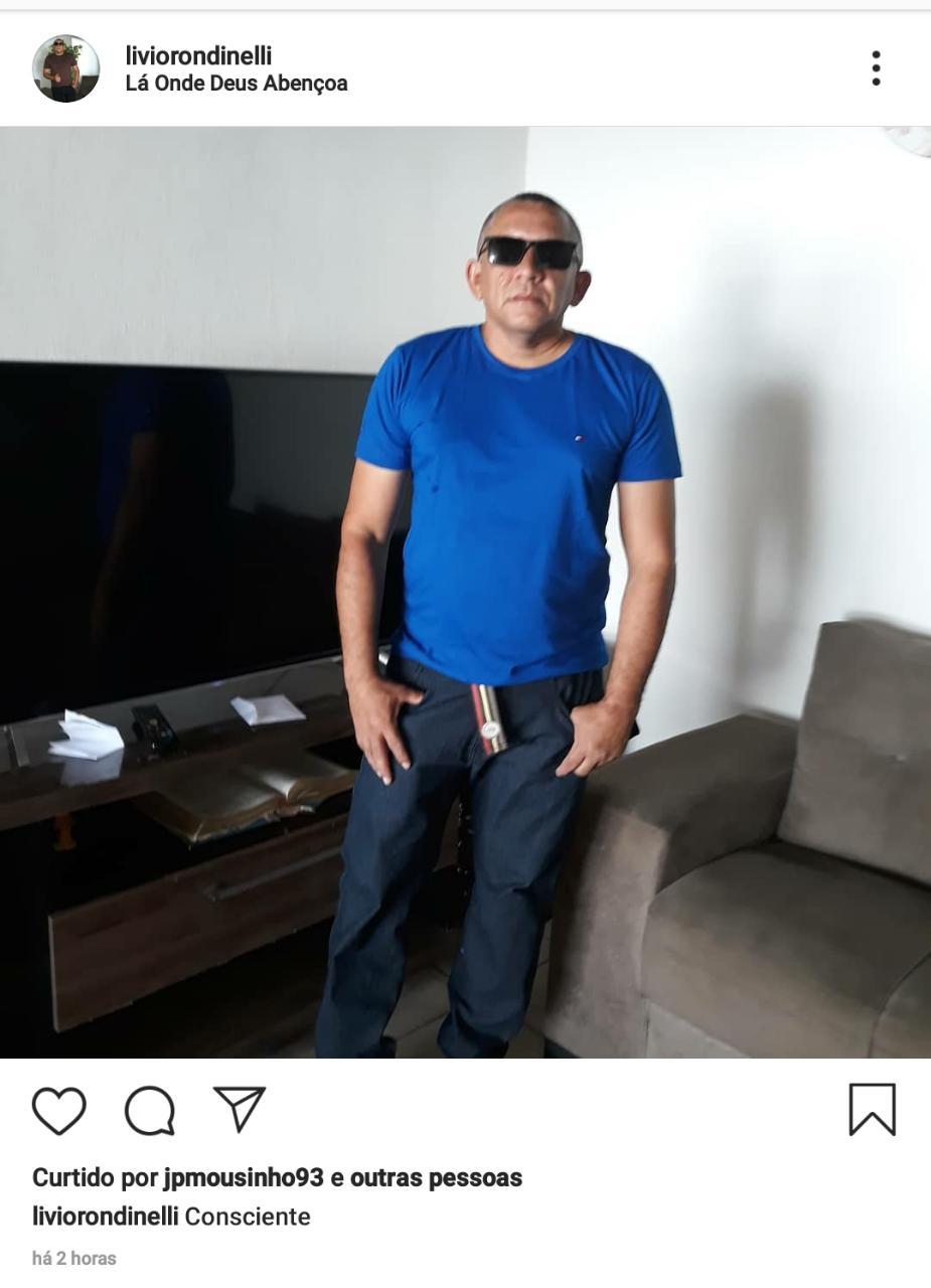 Vítima de homicídio em Teresina, segurança Lívio Rondinelle - Foto: Instagram