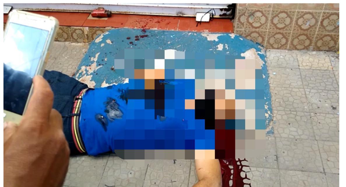 Segurança foi morto a tiros no Centro de Teresina - Foto: Divulgaçao