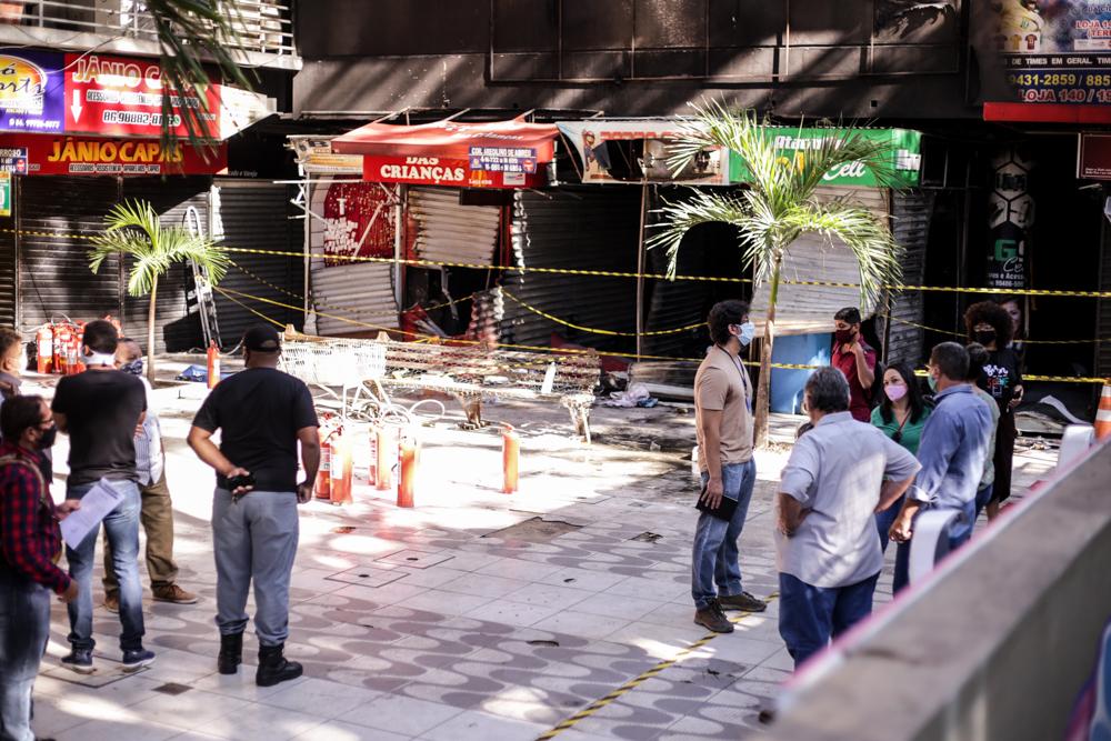 Shopping da Cidade sofreu incendio no dia 10 de agosto - Foto: Ascom
