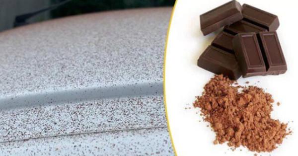 Chuva de chocolate em pó atinge cidade na Suíça