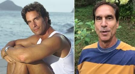 Aos 61 anos, Victor Fasano diz que não quer mais trabalhar como ator Foto: Arquivo/Carlos Ivan e Reprodução/Facebook
