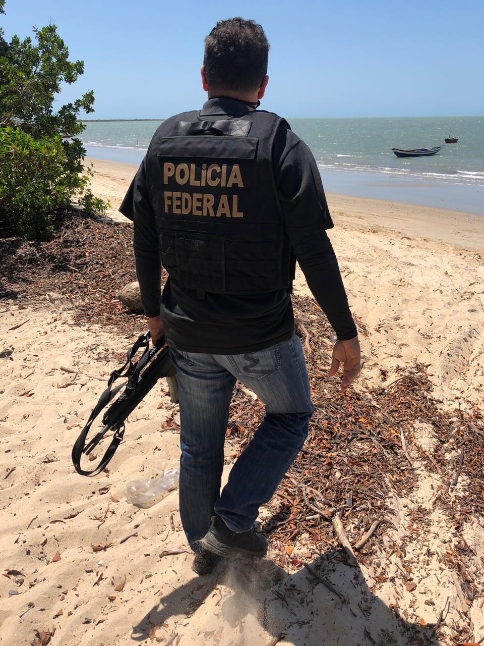 Polícia Federal se encontra no local da ocorrência (Divulgação)