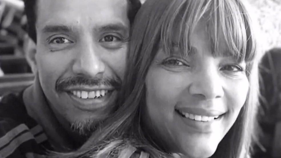 Pastor Anderson, assassinado, e a mulher Flordelis - Foto: Reprodução