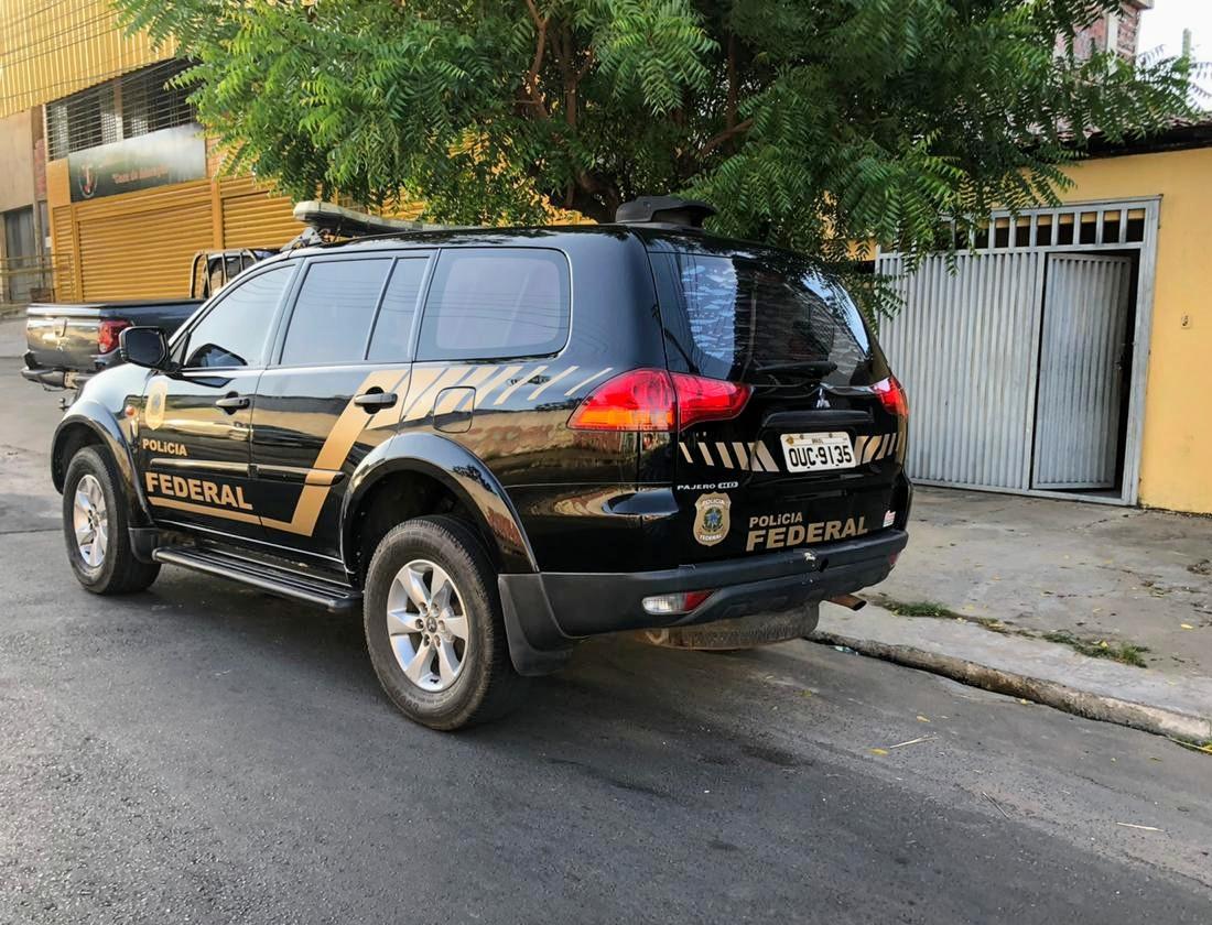 Operação Margem Livre é deflagrada pela Polícia Federal em Teresina - Foto: Divulgação/PF