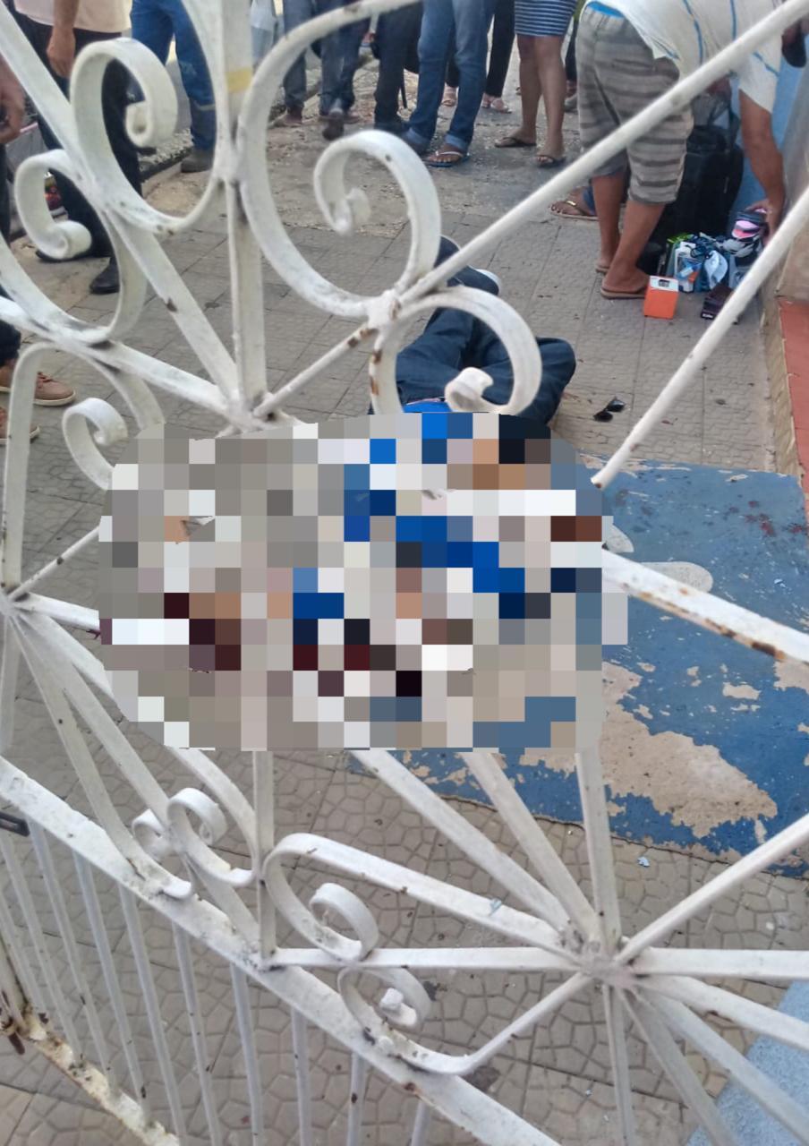 Segurança foi executado no Centro de Teresina - Foto: Reprodução