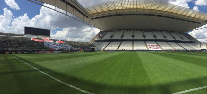 Corinthians está cada vez mais próximo de vender o naming rights da Arena (Foto: Divulgação/Corinthians)