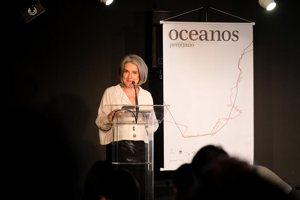 Gestora cultural e curadora do Prêmio Oceanos, Selma Caetano. (Foto: Agência Ophelia)