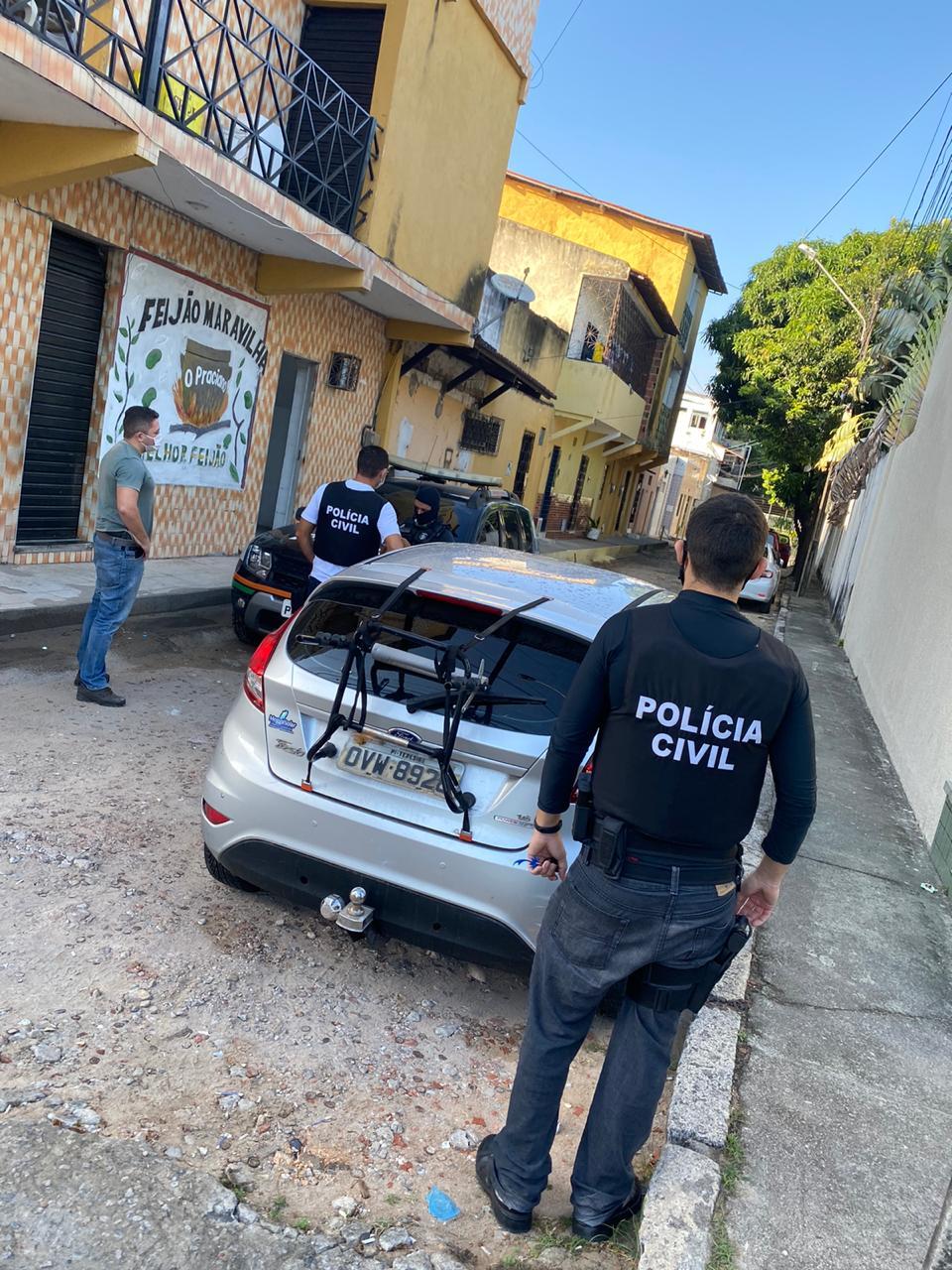 Policia Civil realiza mandados de prisão em três Estados (Divulgação)