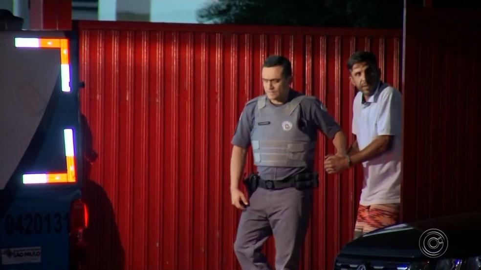 O estuprador e assassino está preso desde o dia do crime (foto: Reprodução - TV TEM)