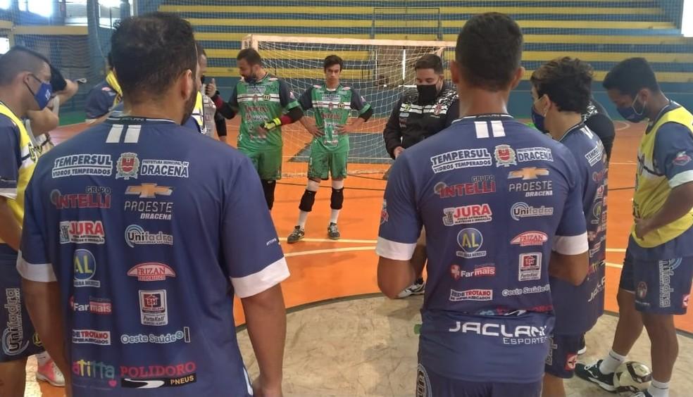 Dracenenses treinavam desde a última segunda-feira (24) em Andradina