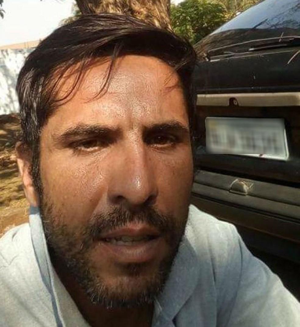 Rodrigo Pereira, 37 anos, acusado de estuprar e matar jovem de 19 anos (foto: Reprodução- TV TEM)