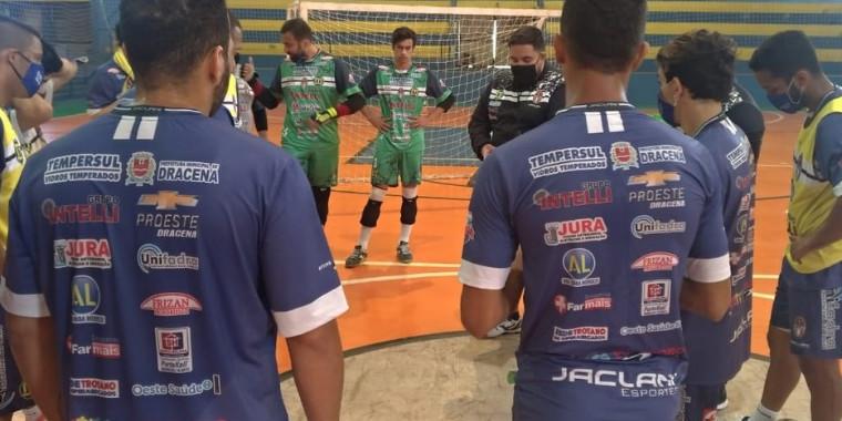 Atletas do Dracena testam positivo para a Covid-19